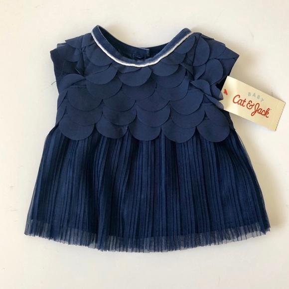 61ab8e42e Cat & Jack Dresses | Host Pick Cat Jack Baby Girl Dress | Poshmark